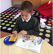 Reading Cafe is a great place for a piece of toast and to read a book