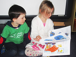 Families can attend Reading In Pyjama nights
