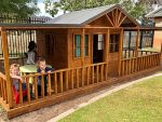 Preschool Cubby house